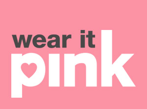 wear it pink for Breast Cancer Now - Guest Blog
